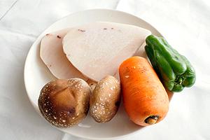 カジキの野菜はさみフライ