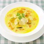 メカジキと根野菜のスープ煮