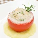 メカジキのトマトファルシ