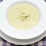 めかじきグリーンピーススープ