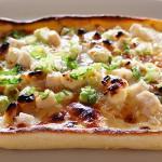 メカジキと4種のチーズピザ