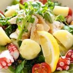 メカジキと香味野菜の温サラダ